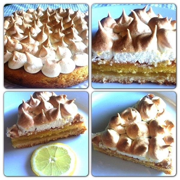 Torta e dolci Pattìni meringate al limone