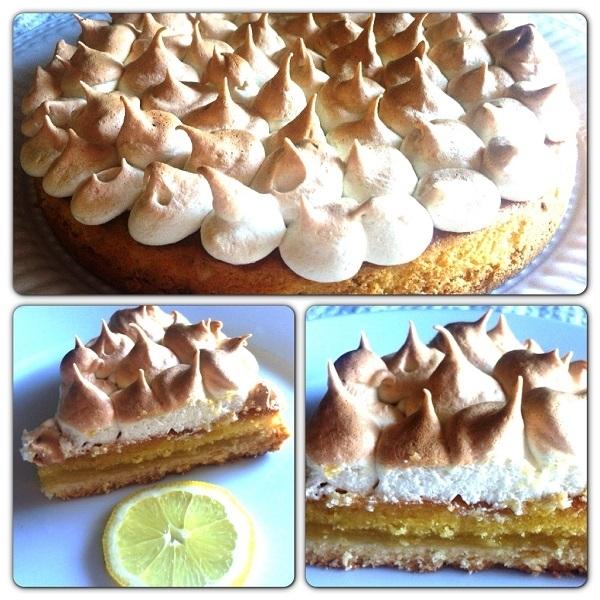 Torta di compleanno al limone Pattìni