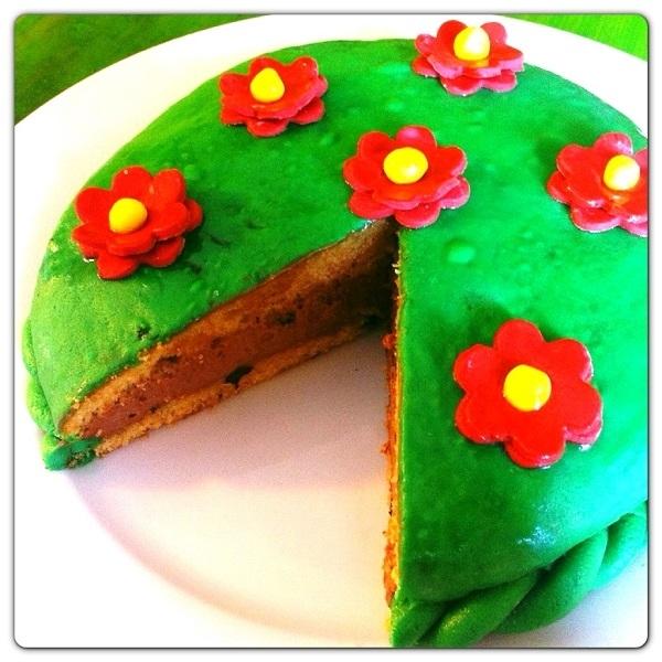 Ricette torta con gocce di cioccolato e crema alla nutella e mascarpone