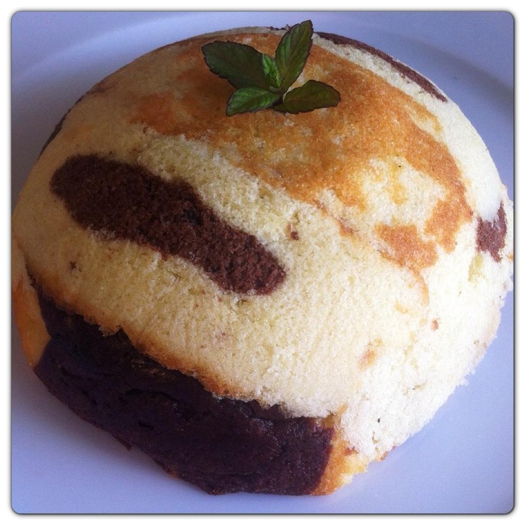 Zuccotto con crema pasticcera e plum cake Pattìni
