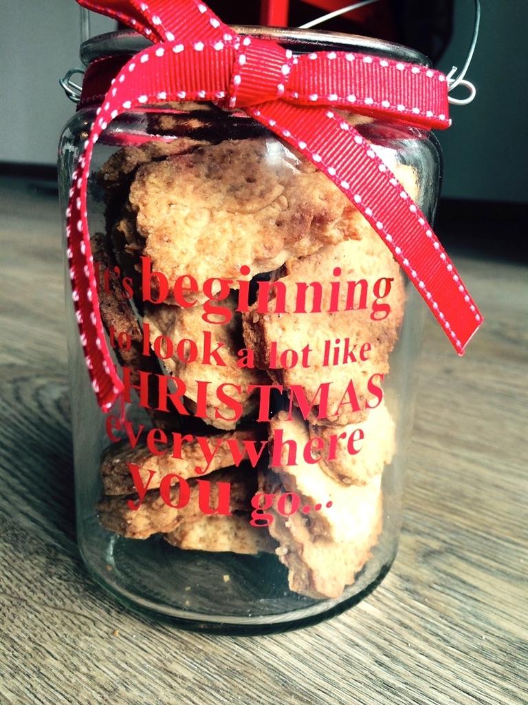 Biscotti in barattolo per Natale Dolci Pattìni