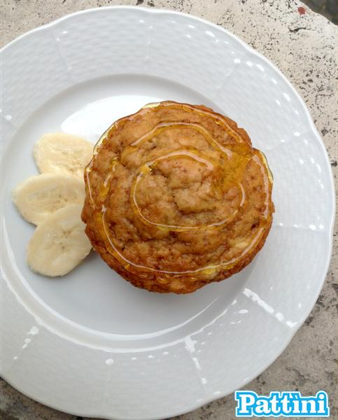 Banana Muffin ricetta Pattìni