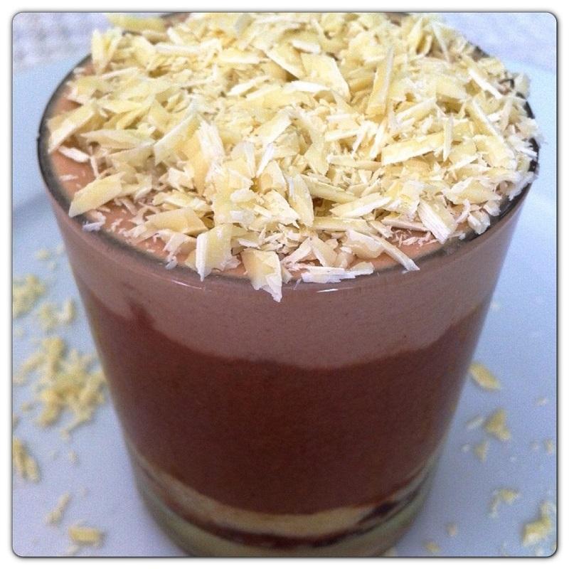 Dolci al cioccolato con plumcake Pattini e crema al mascarpone