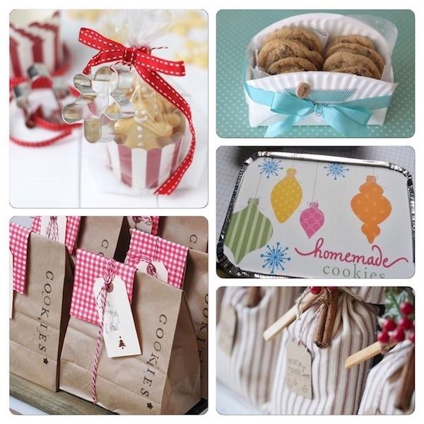Idee confezioni regalo biscotti fatti in cas