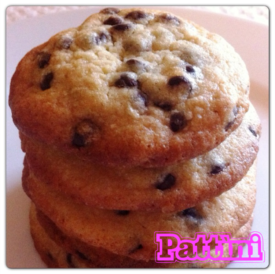 CHOCOLATE CHIP COOKIES: PROFUMO DI BISCOTTI CALDI
