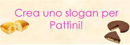 Crea uno slogan per Pattìni
