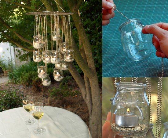 Alcune idee per riciclare i barattoli di vetro