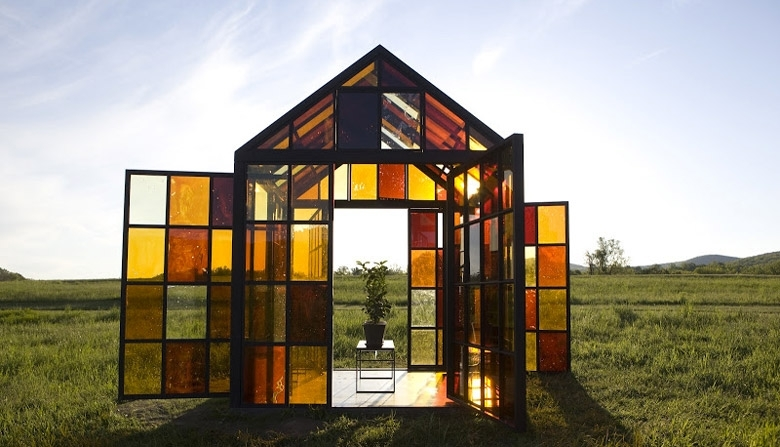Esiste la casa di Hansel e Gretel: è fatta di vetro e…caramello!