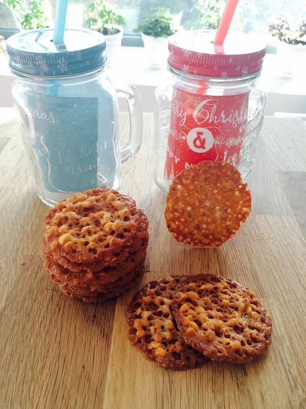 Regali di Natale 2015: Biscottini mandorle e arachidi