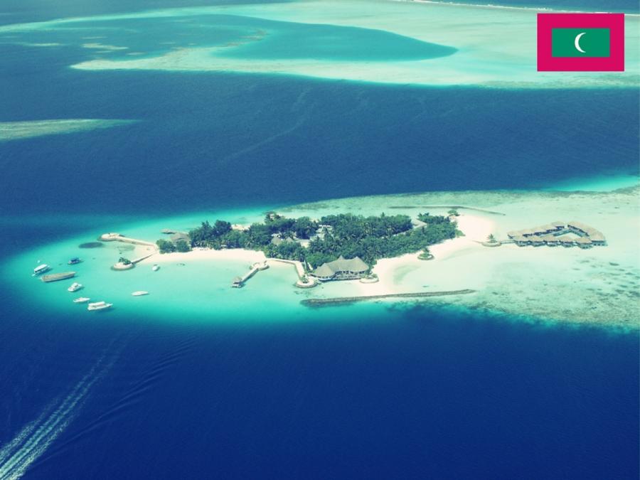 """Il paradiso in """"mare"""": l""""isola di Vaadhoo alle Maldive"""