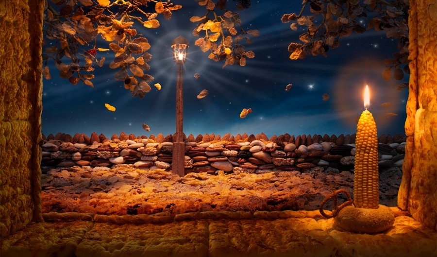 "Paesaggi di cibo: l""arte surreale di Carl Warner"