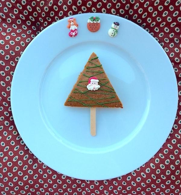 Ricetta alberi di torta al cioccolato