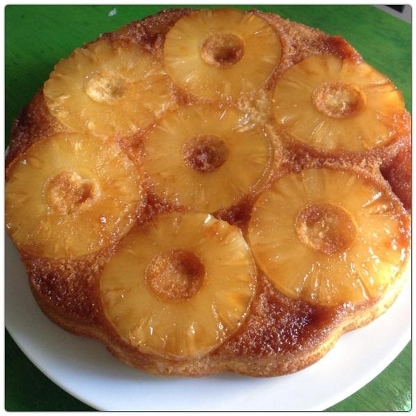 """Torta rovesciata caramellata all""""ananas"""