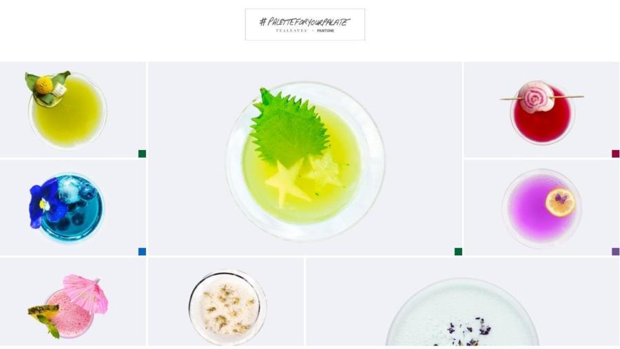 Quando il colore influenza il gusto: il progetto #PaletteForYourPalate