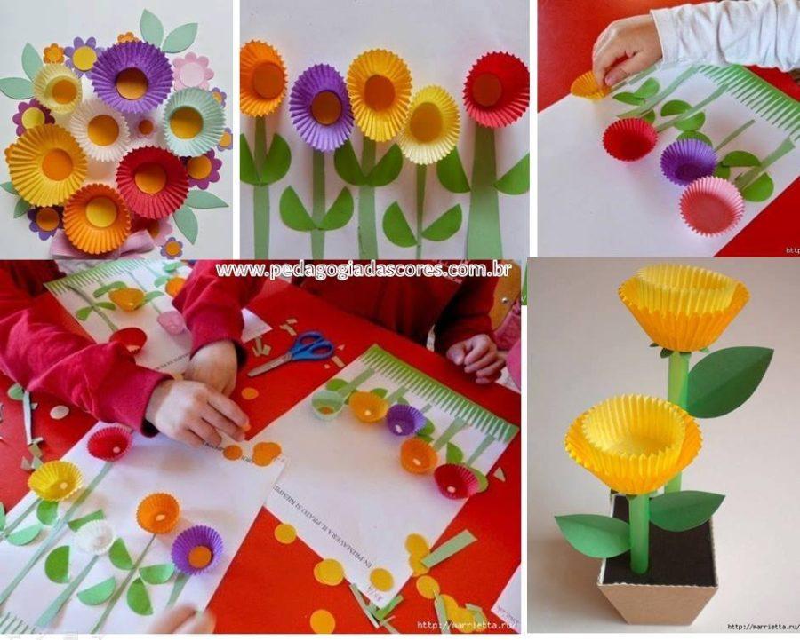 Quel mazzolin di fiori…di carta riciclata!