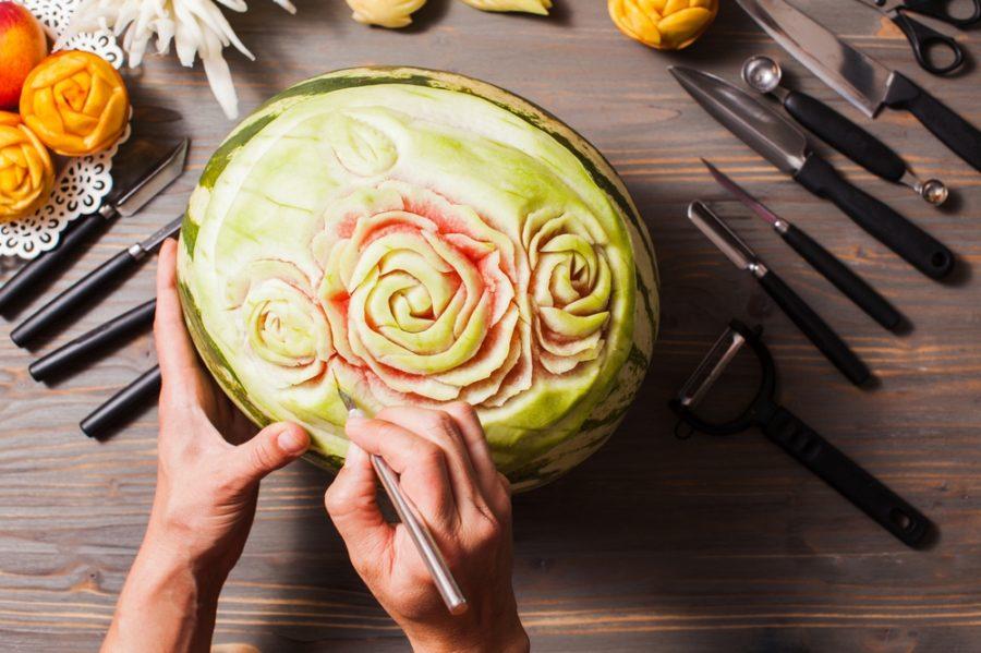 Mukimono: l'arte giapponese di intagliare il cibo