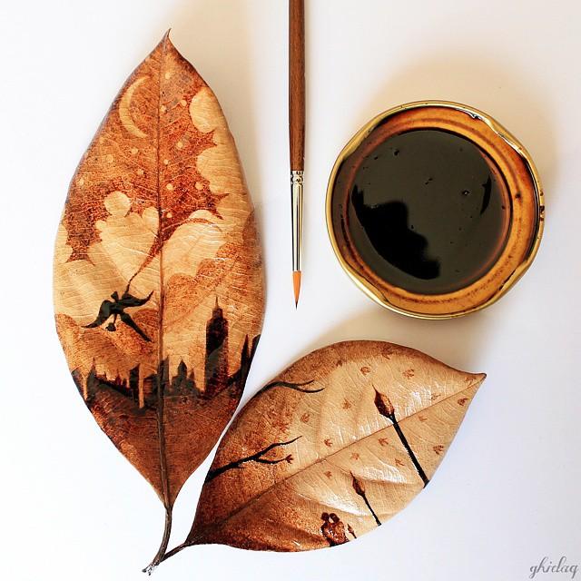 Che ce ne facciamo delle foglie secche?