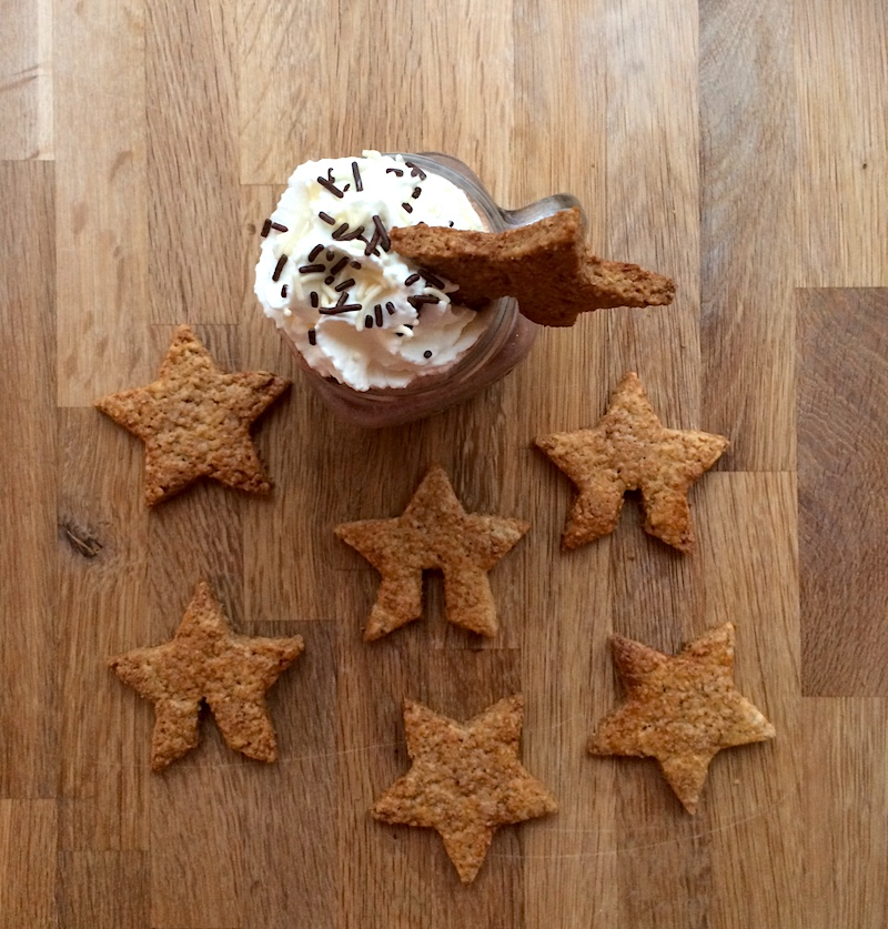 Ricetta biscotti integrali stellati