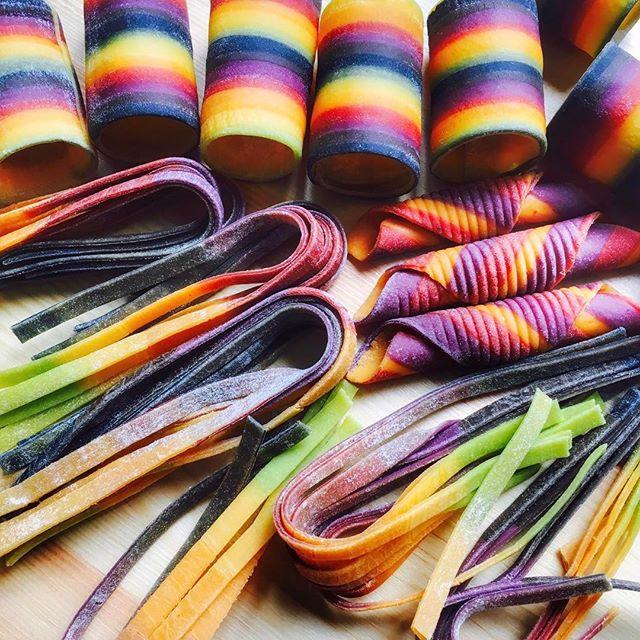 La pasta colorata di Linda Miller