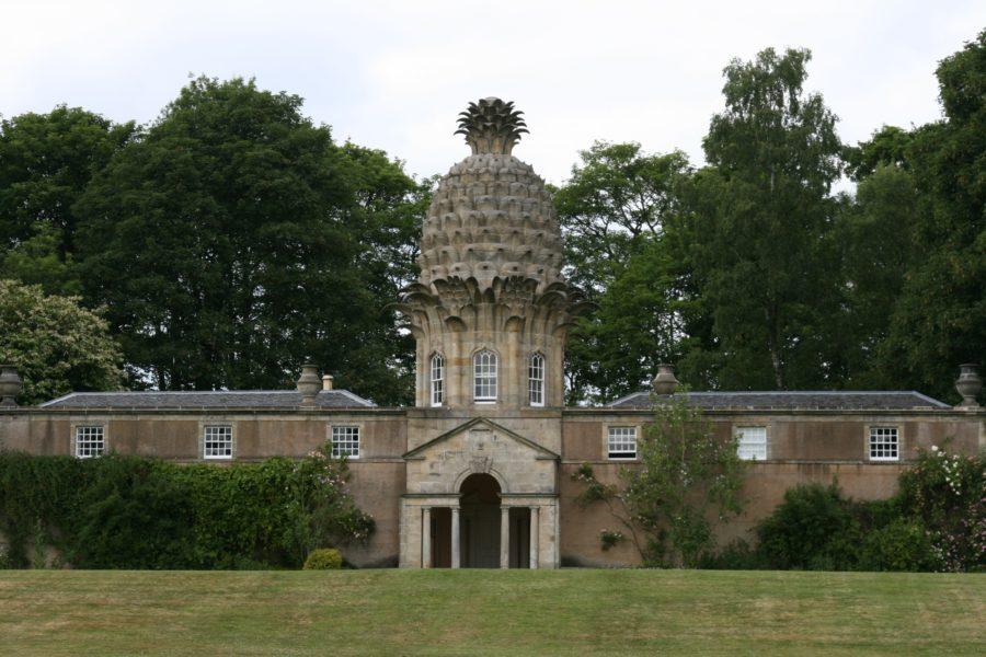 """Il """"castello"""" a forma di ananas"""