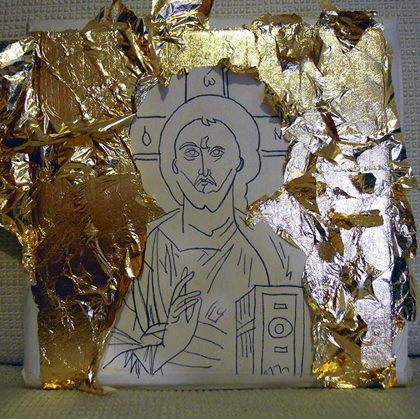 L'arte (fai da te) dell'icona bizantina
