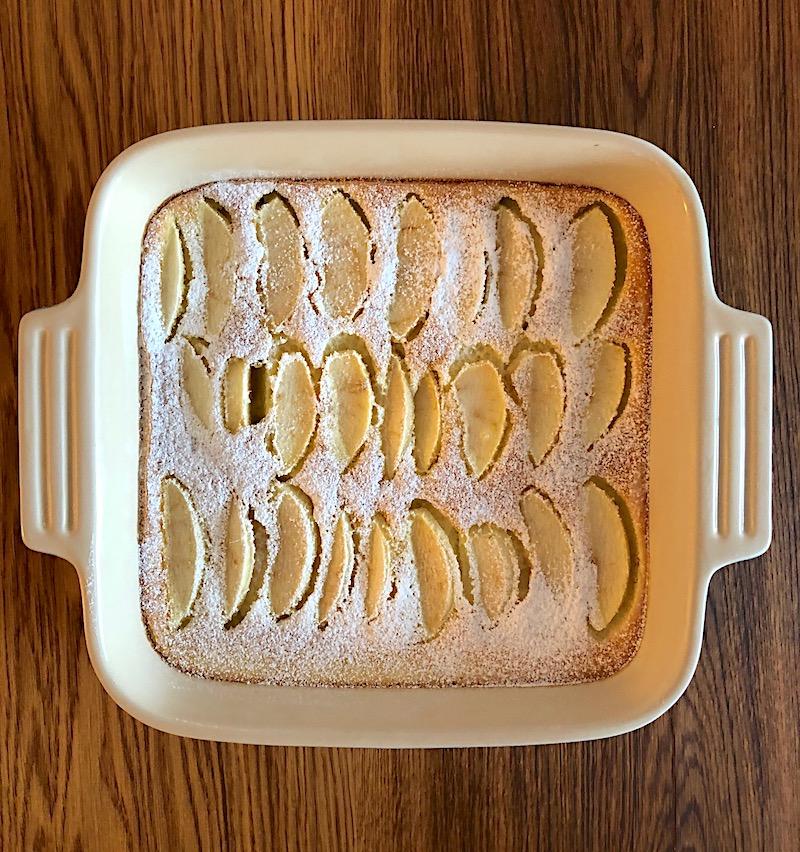 Ricetta veloce Clafoutis alle mele
