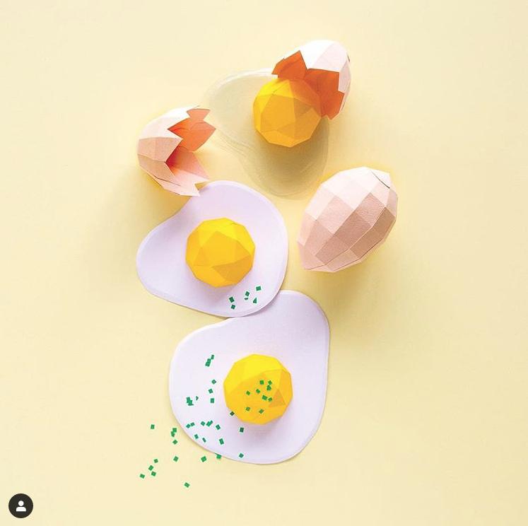 Il cibo di carta di Aurelie Cerise