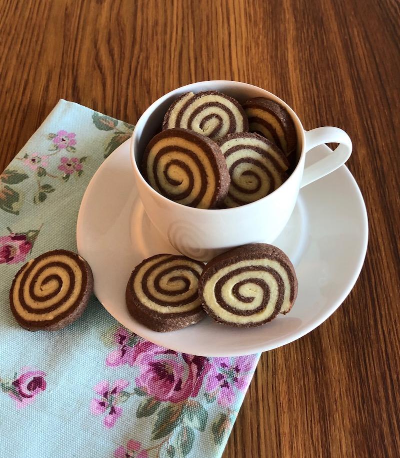 Biscotti bicolore: la ricetta del Nonno Pasticciere