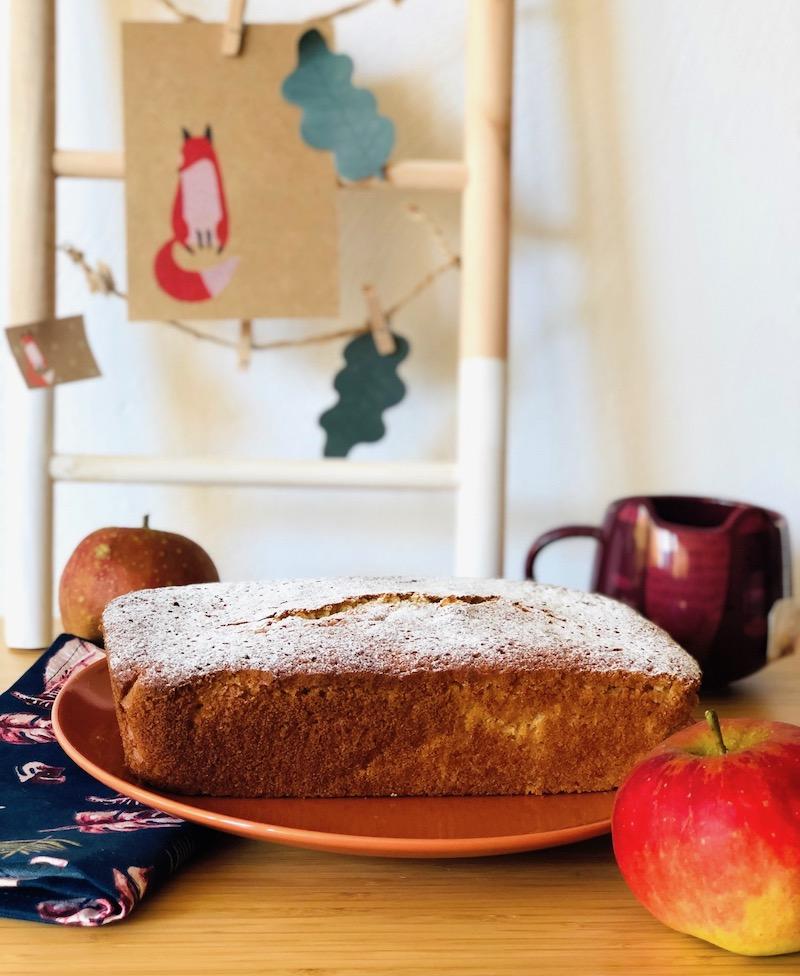 Plumcake alle mele: la ricetta dell'autunno