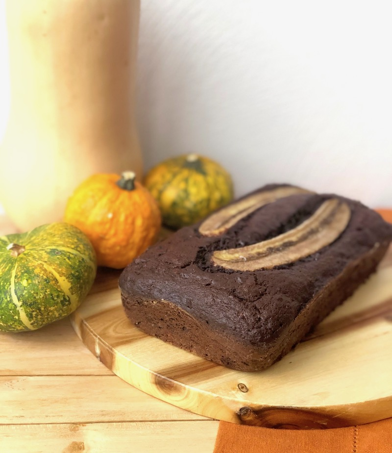 Banana Bread al cioccolato dolci pattìni