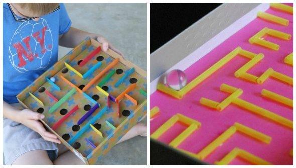 Giocare con il riciclo creativo: biliardo,flipper e piste fai da te