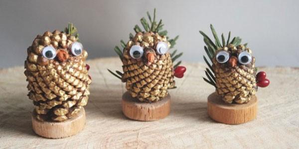 Creare con le pigne: decorazioni natalizie semplici e divertenti