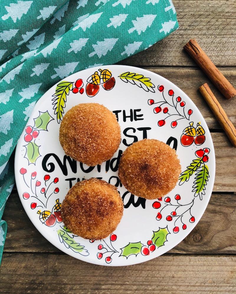 Muffin-Donuts zucchero e cannella