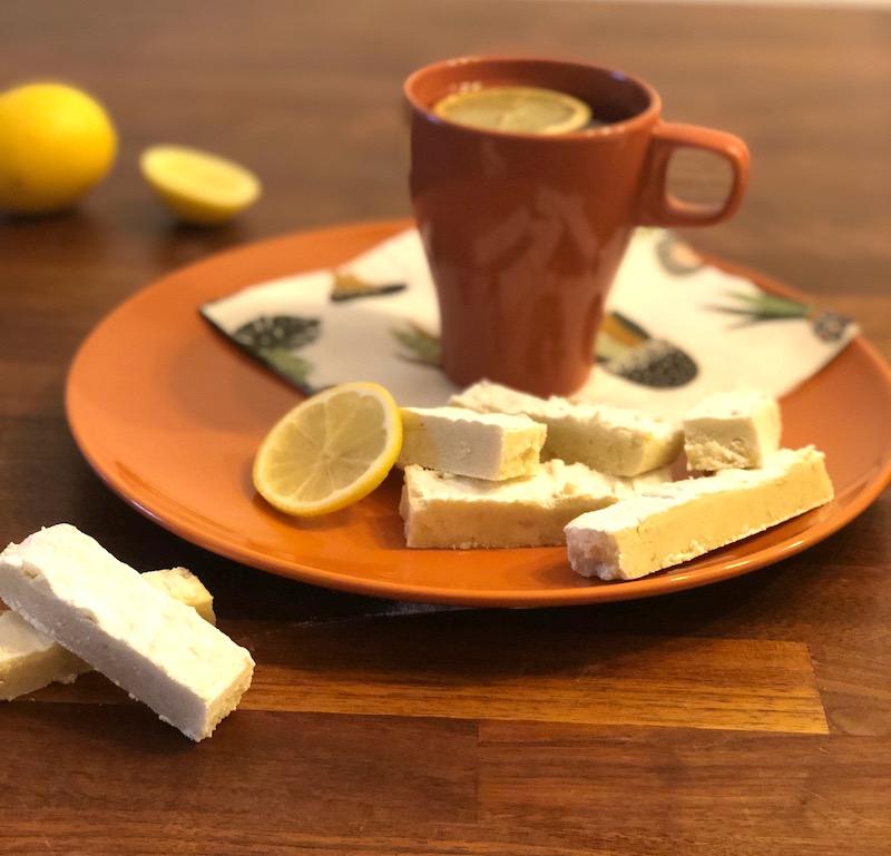 Shortbread al limone e olio d'oliva
