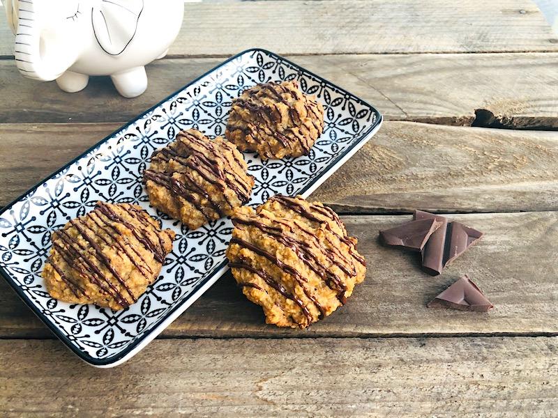 Biscotti dolci pattini al burro di arachidi