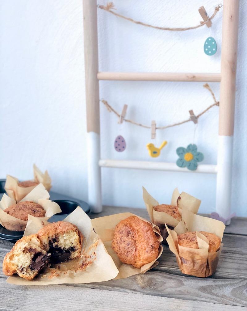 Muffin con crema al cioccolato e nocciola: la ricetta perfetta per la merenda