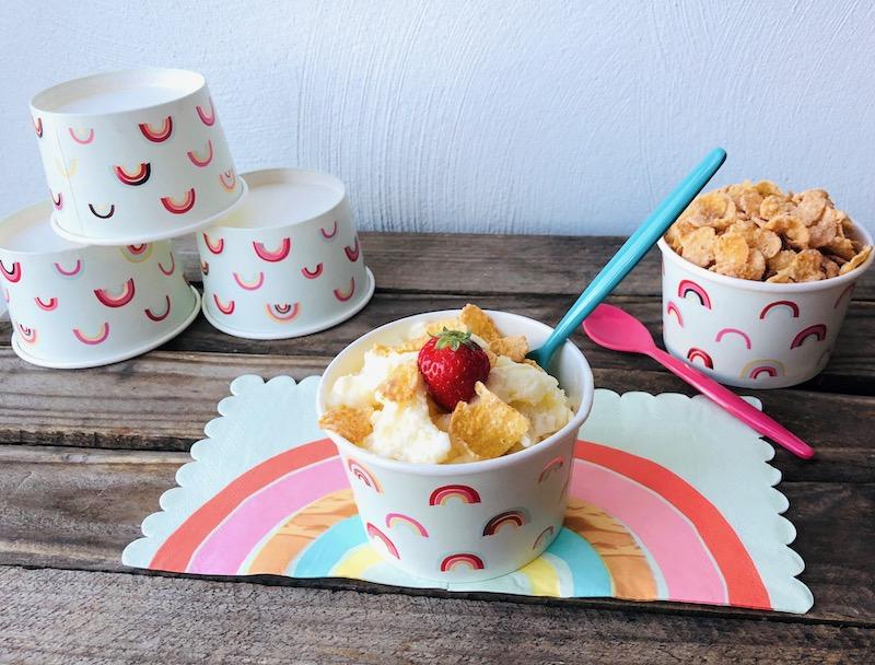 Gelato latte e cereali: la ricetta cremosa dell'estate