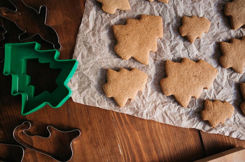 Pasta frolla alle nocciole per i biscotti di Natale