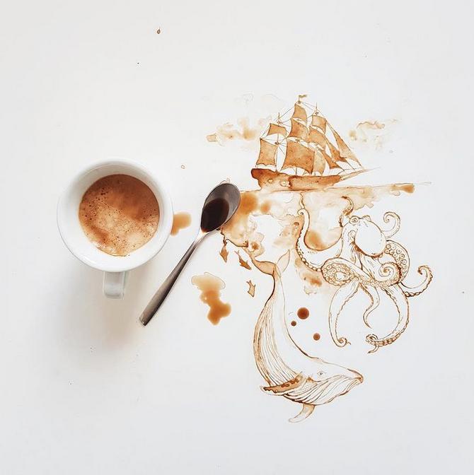 La maga del caffè