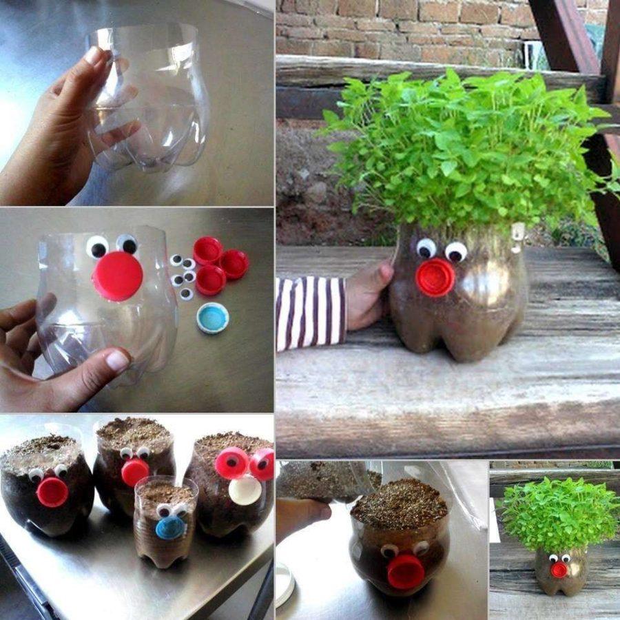 Dalle bottiglie di plastica ai vasi porta piante: rispettiamo l'ambiente con il riciclo creativo