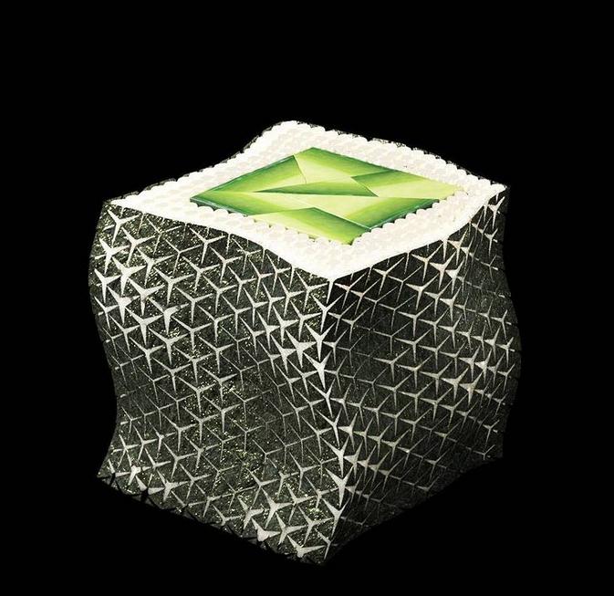 Il sushi stampato in 3D