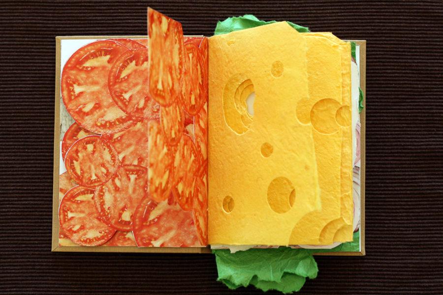 Il libro che sembra un sandwich