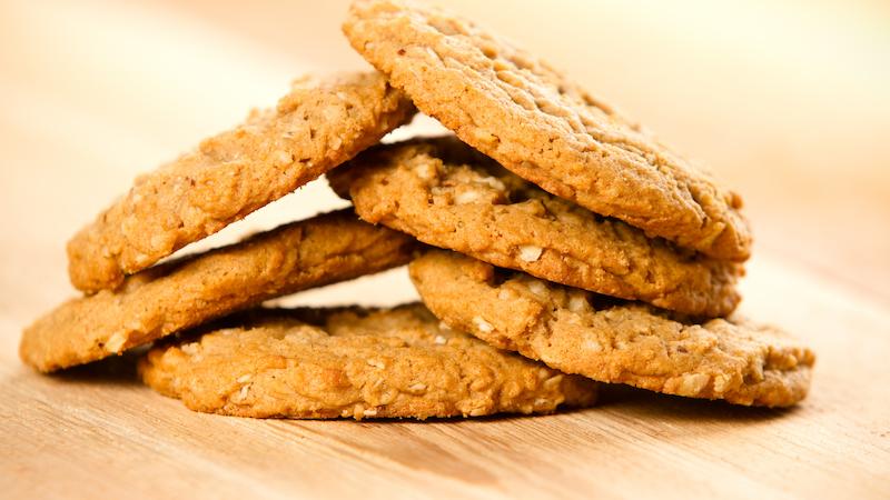 Biscotti all'avena e cocco dolci pattíni