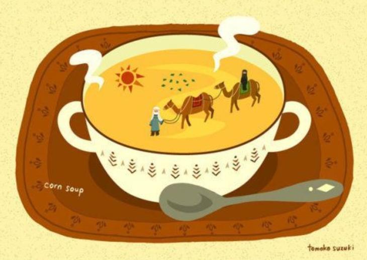 """Le zuppe """"da viaggio"""" di Tomoko Sukuzi"""